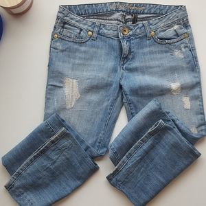 Premium guess denim jeans gold details 29